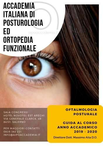 Oftalmologia Posturale Corso